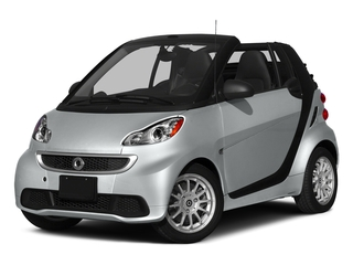 Silver Metallic 2015 smart fortwo Pictures fortwo Convertible 2D Passion I3 photos front view
