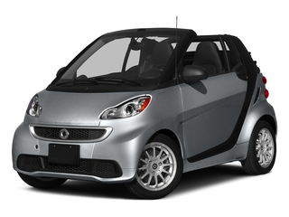 Gray Matte 2015 smart fortwo Pictures fortwo Convertible 2D Passion I3 photos front view