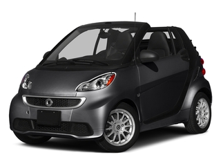 Deep Black 2015 smart fortwo Pictures fortwo Convertible 2D Passion I3 photos front view