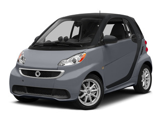 Gray Matte 2015 smart fortwo electric drive Pictures fortwo electric drive Coupe 2D Electric photos front view