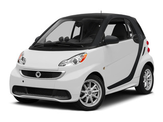 Crystal White 2015 smart fortwo electric drive Pictures fortwo electric drive Coupe 2D Electric photos front view