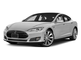 Pearl White Multi-Coat 2015 Tesla Motors Model S Pictures Model S Sedan 4D D AWD Electric photos front view
