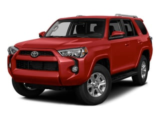 Barcelona Red Metallic 2015 Toyota 4Runner Pictures 4Runner Utility 4D Trail Edition 4WD V6 photos front view