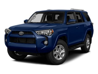 Nautical Blue Pearl 2015 Toyota 4Runner Pictures 4Runner Utility 4D Trail Edition 4WD V6 photos front view