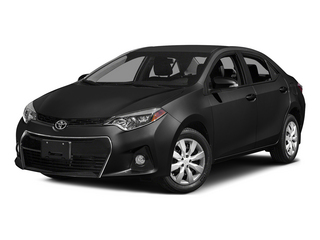 Black Sand Mica 2015 Toyota Corolla Pictures Corolla Sedan 4D L I4 photos front view