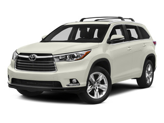 Blizzard Pearl 2015 Toyota Highlander Pictures Highlander Utility 4D Limited 2WD V6 photos front view