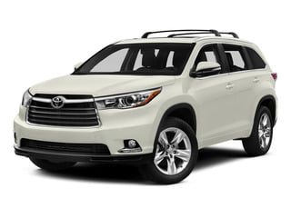 Blizzard Pearl 2015 Toyota Highlander Pictures Highlander Utility 4D LE 2WD I4 photos front view