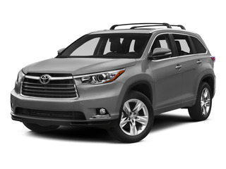 Silver Sky Metallic 2015 Toyota Highlander Pictures Highlander Utility 4D Limited 2WD V6 photos front view