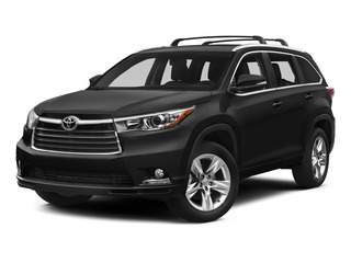 Attitude Black Metallic 2015 Toyota Highlander Pictures Highlander Utility 4D LE 2WD I4 photos front view