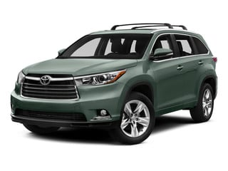 Alumina Jade Metallic 2015 Toyota Highlander Pictures Highlander Utility 4D LE 2WD I4 photos front view