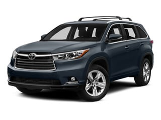 Shoreline Blue Pearl 2015 Toyota Highlander Pictures Highlander Utility 4D LE 2WD I4 photos front view