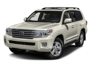 Blizzard Pearl 2015 Toyota Land Cruiser Pictures Land Cruiser Utility 4D 4WD V8 photos front view