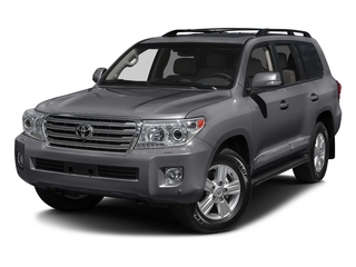 Magnetic Gray Metallic 2015 Toyota Land Cruiser Pictures Land Cruiser Utility 4D 4WD V8 photos front view