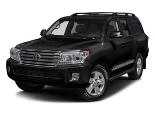 Black 2015 Toyota Land Cruiser Pictures Land Cruiser Utility 4D 4WD V8 photos front view