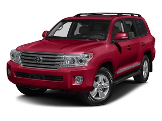 Salsa Red Pearl 2015 Toyota Land Cruiser Pictures Land Cruiser Utility 4D 4WD V8 photos front view