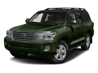 Amazon Green Metallic 2015 Toyota Land Cruiser Pictures Land Cruiser Utility 4D 4WD V8 photos front view