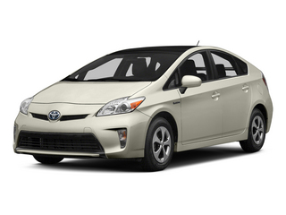 Blizzard Pearl 2015 Toyota Prius Pictures Prius Liftback 5D Five I4 Hybrid photos front view