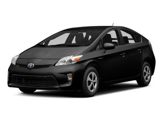 Black 2015 Toyota Prius Pictures Prius Liftback 5D Five I4 Hybrid photos front view
