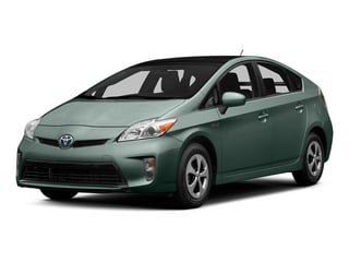 Sea Glass Pearl 2015 Toyota Prius Pictures Prius Liftback 5D Five I4 Hybrid photos front view