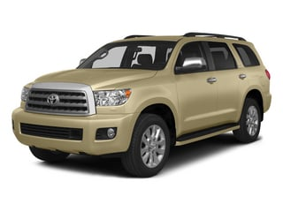 Sandy Beach Metallic 2015 Toyota Sequoia Pictures Sequoia Utility 4D Limited 2WD V8 photos front view