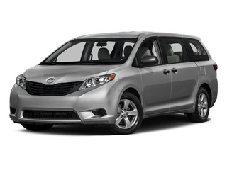 Silver Sky Metallic 2015 Toyota Sienna Pictures Sienna Wagon 5D LE V6 photos front view