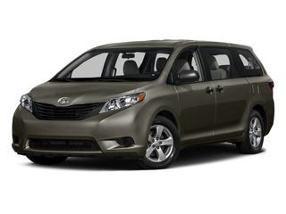 Predawn Gray Mica 2015 Toyota Sienna Pictures Sienna Wagon 5D LE V6 photos front view