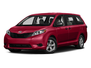 Salsa Red Pearl 2015 Toyota Sienna Pictures Sienna Wagon 5D LE V6 photos front view