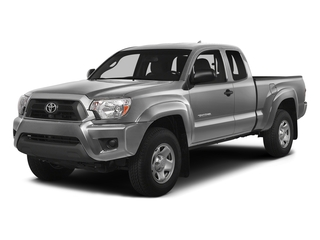 Silver Sky Metallic 2015 Toyota Tacoma Pictures Tacoma Base Access Cab 4WD V6 photos front view