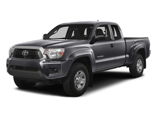Magnetic Gray Metallic 2015 Toyota Tacoma Pictures Tacoma Base Access Cab 4WD V6 photos front view
