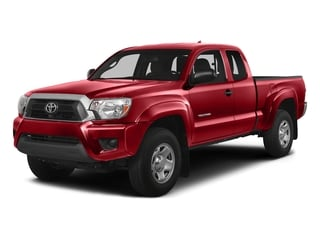 Barcelona Red Metallic 2015 Toyota Tacoma Pictures Tacoma Base Access Cab 4WD V6 photos front view