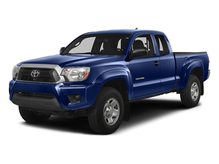 Blue Ribbon Metallic 2015 Toyota Tacoma Pictures Tacoma Base Access Cab 4WD V6 photos front view
