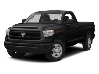Black 2015 Toyota Tundra 4WD Truck Pictures Tundra 4WD Truck SR 4WD photos front view