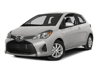 Super White 2015 Toyota Yaris Pictures Yaris Hatchback 3D LE I4 photos front view
