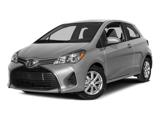 Classic Silver Metallic 2015 Toyota Yaris Pictures Yaris Hatchback 3D LE I4 photos front view