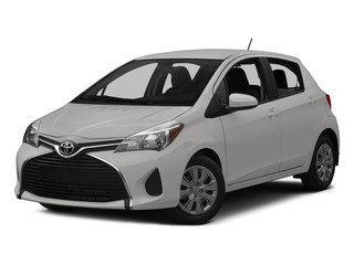 Super White 2015 Toyota Yaris Pictures Yaris Hatchback 5D SE I4 photos front view