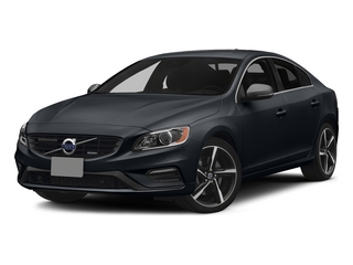 Black Sapphire Metallic 2015 Volvo S60 Pictures S60 Sedan 4D T6 Platinum R-Design AWD photos front view