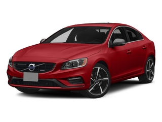 Passion Red 2015 Volvo S60 Pictures S60 Sedan 4D T6 Platinum R-Design AWD photos front view