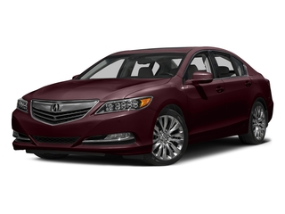 Pomegranate Pearl 2016 Acura RLX Pictures RLX Sedan 4D Advance V6 photos front view