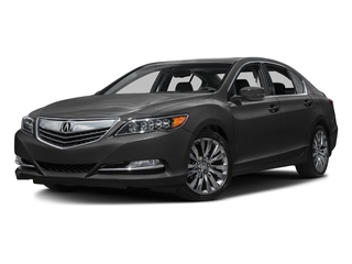Graphite Luster Metallic 2016 Acura RLX Pictures RLX Sedan 4D Technology V6 photos front view