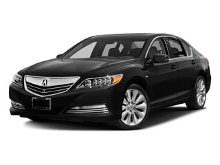 Crystal Black Pearl 2016 Acura RLX Pictures RLX Sedan 4D Advance AWD V6 Hybrid photos front view