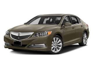 Gilded Pewter Metallic 2016 Acura RLX Pictures RLX Sedan 4D Advance AWD V6 Hybrid photos front view