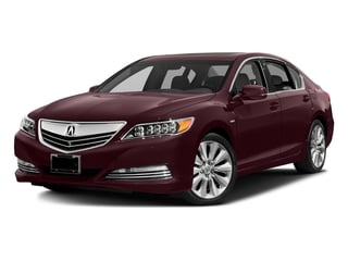 Pomegranate Pearl 2016 Acura RLX Pictures RLX Sedan 4D Technology AWD V6 Hybrid photos front view