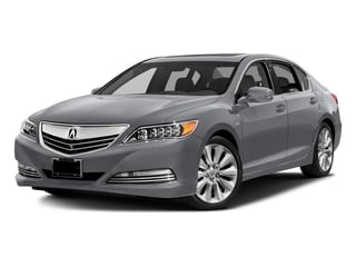 Slate Silver Metallic 2016 Acura RLX Pictures RLX Sedan 4D Advance AWD V6 Hybrid photos front view