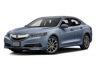 Fathom Blue Pearl 2016 Acura TLX Pictures TLX Sedan 4D Technology V6 photos front view