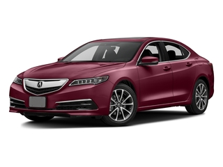 Basque Red Pearl II 2016 Acura TLX Pictures TLX Sedan 4D Technology V6 photos front view