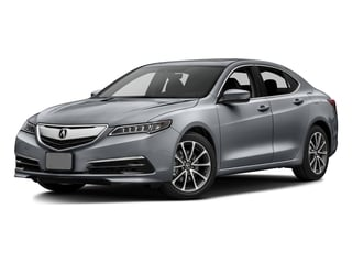 Slate Silver Metallic 2016 Acura TLX Pictures TLX Sedan 4D Technology V6 photos front view