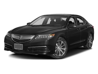 Crystal Black Pearl 2016 Acura TLX Pictures TLX Sedan 4D Technology I4 photos front view