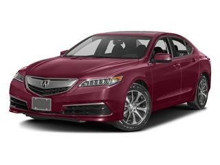 Basque Red Pearl II 2016 Acura TLX Pictures TLX Sedan 4D Technology I4 photos front view