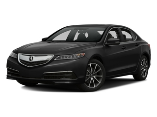 Crystal Black Pearl 2016 Acura TLX Pictures TLX Sedan 4D Technology AWD V6 photos front view