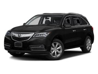 Crystal Black Pearl 2016 Acura MDX Pictures MDX Utility 4D Advance 2WD V6 photos front view